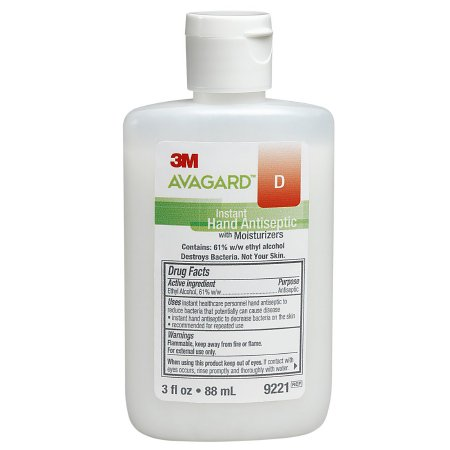 3M Avagard D Hand Sanitizer with Moisturizers - 3 oz