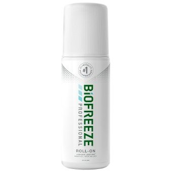 Biofreeze Professional 5% Strength Gel Roll-on - 3 oz.