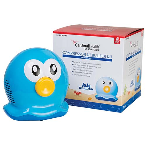 Cardinal JoJo the Jellyfish Pediatric Compressor Nebulizer