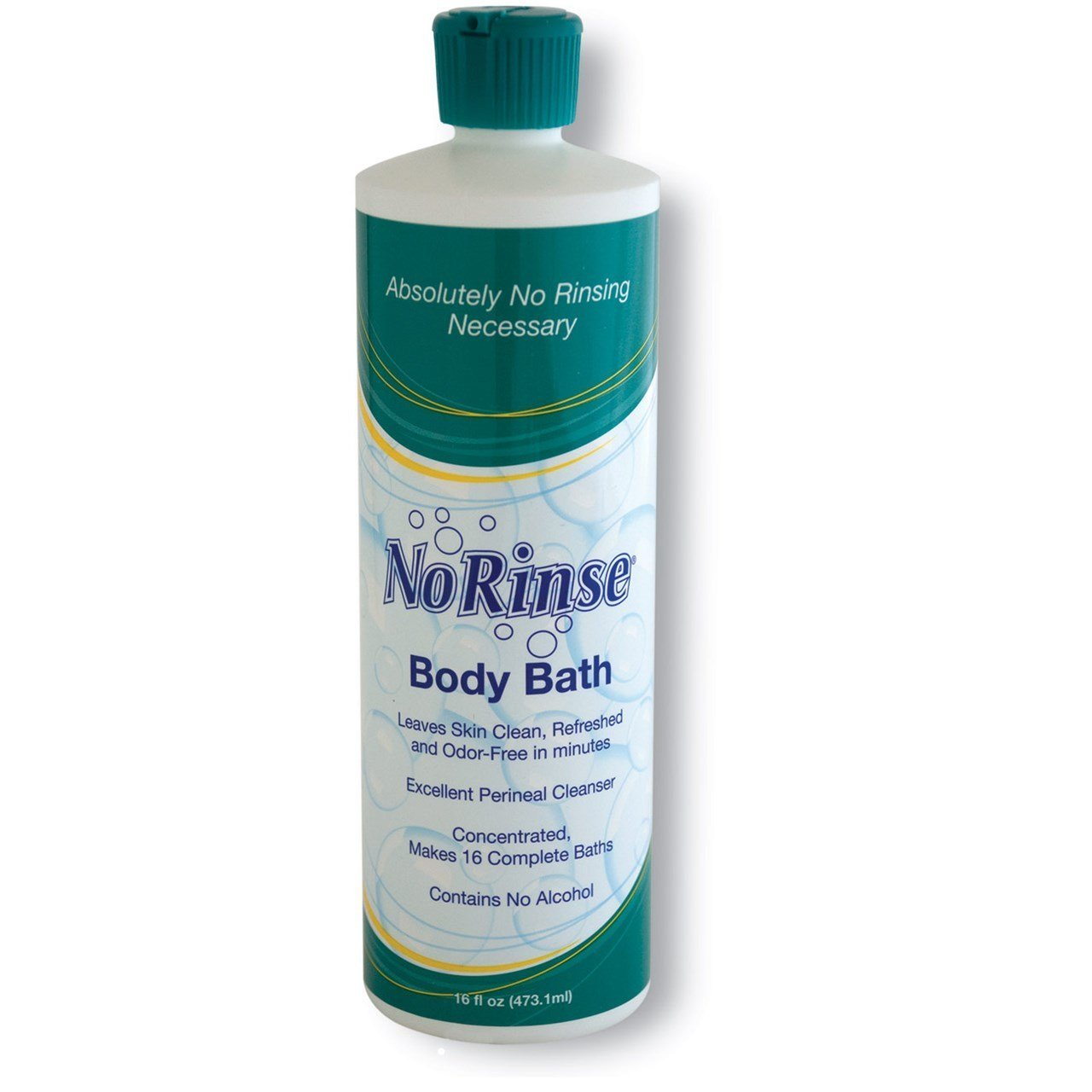 CleanLife No-Rinse Body Bath, Concentrated Formula 16 oz