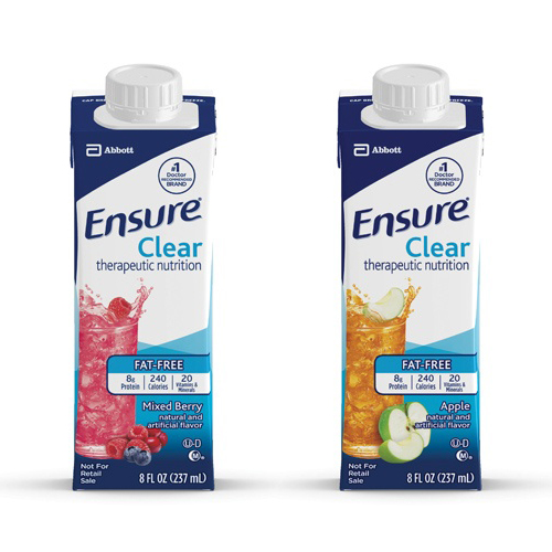 Ensure Clear Ready to Use Carton - 8 oz