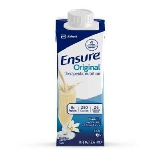Ensure Vanilla Flavor 8 oz. Oral Supplement Carton Ready to Use