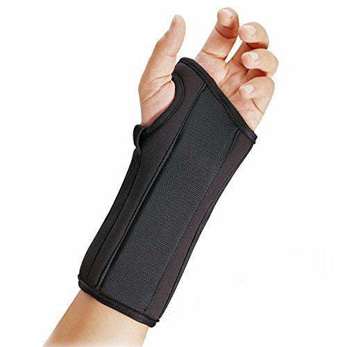 FLA ProLite Wrist Splint - Left - Black - 8