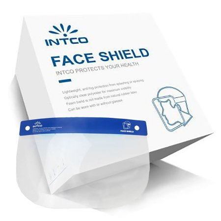 Intco Anti-fog Face Shields - 25 Pack