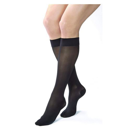Jobst Ultrasheer Supportwear 8-15 mmHg Compression Stockings - Black