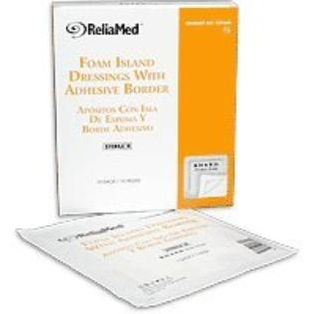 ReliaMed Sterile Latex-Free Non-Adherent Foam Dressing 6 x 6