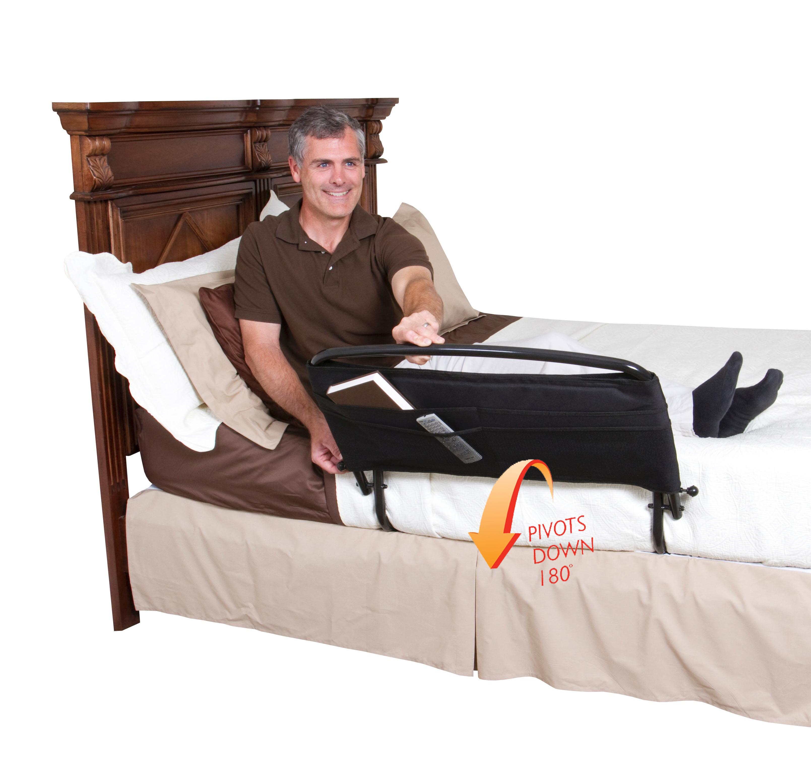 Safety Bed Rail and Padded Pouch 30