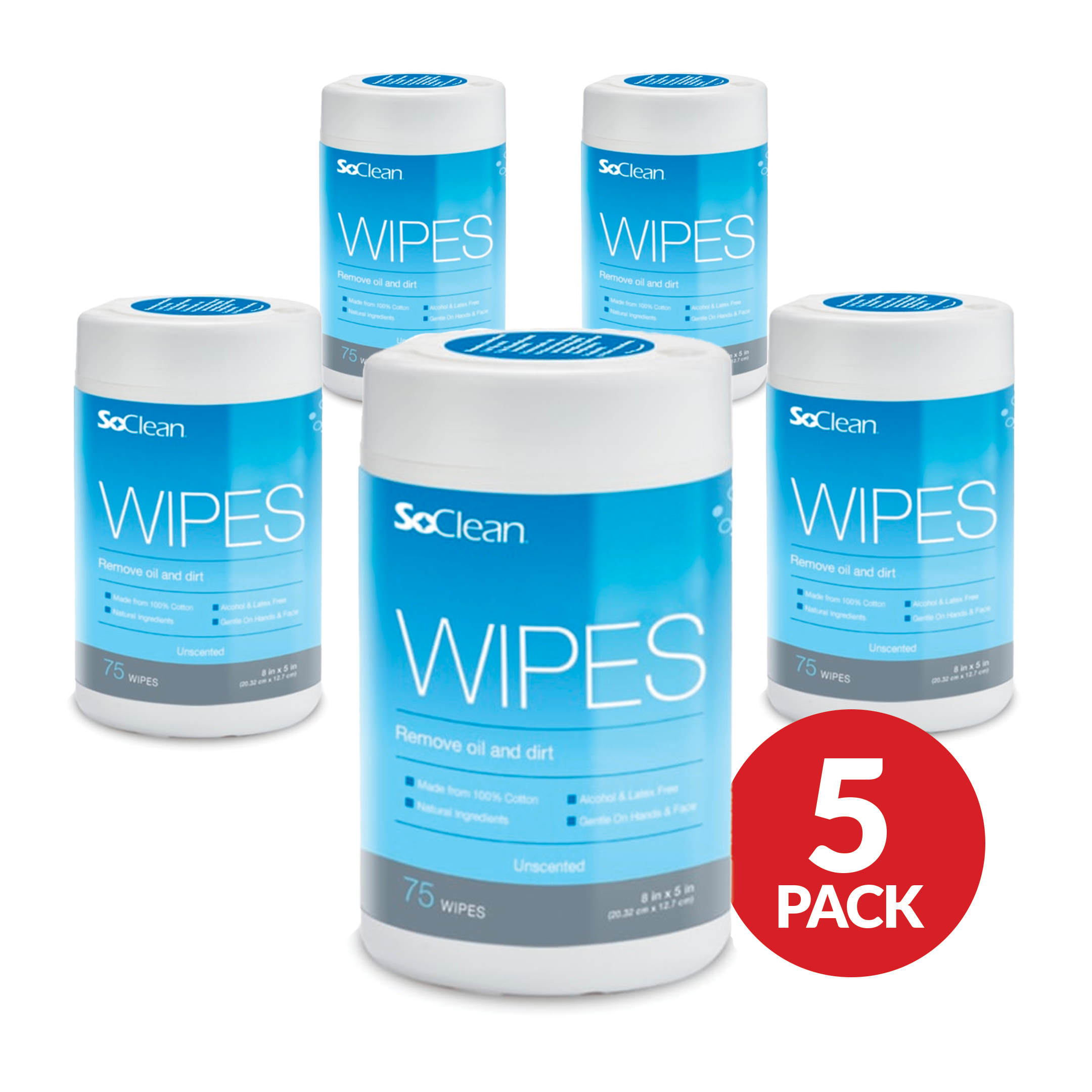 SoClean Wipes Bundle