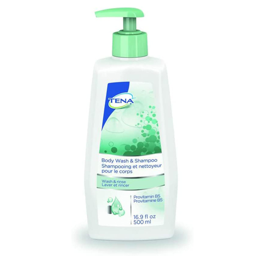 TENA Body Wash & Shampoo - 16.9 oz