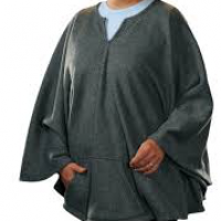 Image of Granny Jo Fleece Poncho