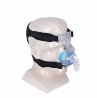 Image of Respironics ComfortGel Blue Mask with Premium Headgear