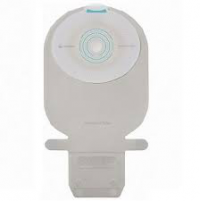 "Image of Coloplast SenSura Mio One-Piece Drainable Pouch, Filter, Maxi, Wide Outlet, EasiClose Transparent, 1-3/16"" Stoma"