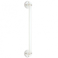 "Image of McKesson Wall Grab Bar, 18"", White Steel"