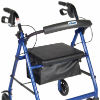 "Image of Drive Aluminum Rollator, 6"" Casters"