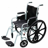"Image of Drive Lightweight Wheelchair/Flyweight Transport Chair Combo - 20"" 250 lbs"