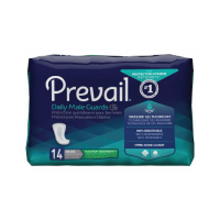 Image of Prevail Daily Male Guards / Pads for Bladder Control - 12-1/2""