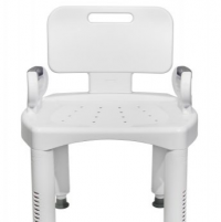 "Image of McKesson Bath Bench Removable Arm Rail & Back - 16"" - 20-1/2"""