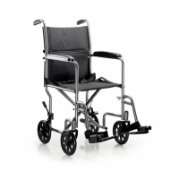 Image of McKesson Lightweight Transport Chair - Steel Frame - 250 lbs