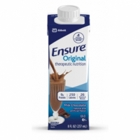 Image of Ensure Chocolate Flavor Oral Supplement 8 oz. Carton Ready to Use