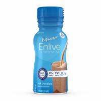 Image of Ensure Enlive Chocolate FLavor 8 oz. Oral Supplement Bottle Ready to Use